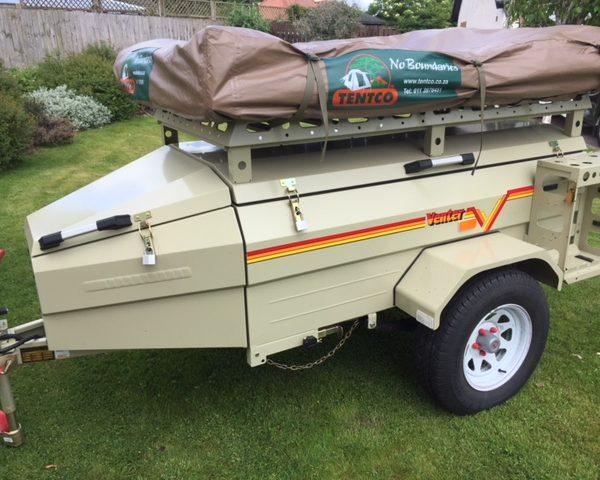 Venter Savuti off road trailer tent